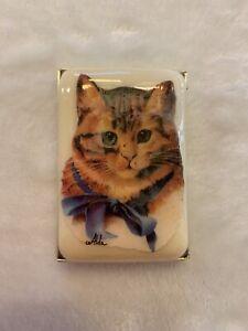 Alda's Forever Soap Cat Design