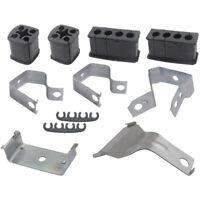 1955-1957 Ford Thunderbird Spark Plug Wire Bracket & Grommet Kit, 11 Pieces