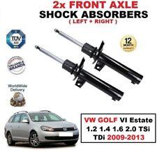 2x ant. AMMORTIZZATORI per VW GOLF VI FAMILIARE 1.2 1.4 1.6 2.0 TSI TDI