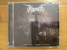 FROWNING - Funeral Impressions CD '14 - MINT Doom Solitude Wretched Skepticism
