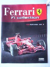 Ferrari F1 Collection F2008 Felipe Massa Fascicolo Fabbri Editori 2013 Automobil