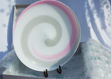 """NEW MURANO GLASS CENTERPIECE BOWL DIRECT VENICE *VERY LARGE 19""""* SIGNED W/LABEL"""