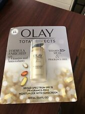 Olay Total Effects 7 In 1 Anti-aging Moisturize 3.4 oz Spf 15 - Fragrance Free
