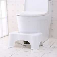 """Non-Slip Removable Toilet Step Stool Bathroom Aid Constipation Piles Relief 7"""""""