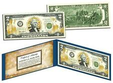 U.S. MARINES *Legal Tender* GOLD HOLOGRAM $2 U.S. BILL **MUST SEE**