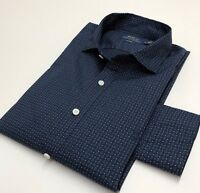 Polo Ralph Lauren Mens Casual Shirt Printed Blue L