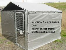 Dog kennel cover, winter bundle for 6x12 kennel