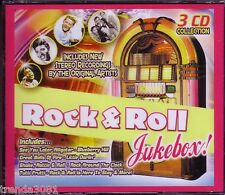 Rock Roll Jukebox 3CD Great Classic New Recordings LITTLE RICHARD SAM THE SHAM