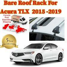 Aerodynamic  Acura TLX  Bare Roof Top Rack 2015 -2019 a Pair With Lock