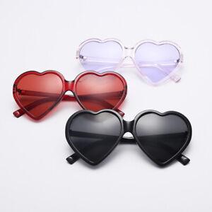 Heart Shape Summer All-Match Sunglasses Lens Goggles Middle Frame Vintage