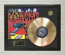 Snoop Dog Doggy Style Framed Legends Of Music Gold LP Record Display