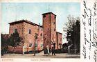 Cartolina - Postcard - Illustrata - Voghera - Castello Medievale - anni '10