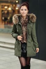Regular Size Faux Fur Parkas for Women