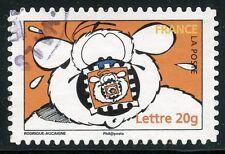 TIMBRE DE FRANCE  OBLITERE N° 3954 / AUTOADHESIF N° 87 LE CHIEN CUBITUS