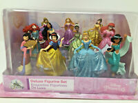 Disney Princess Shimmering 11 Doll Deluxe Figurine Collection NIB