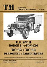 TANKOGRAD 6033 U.S. WWII DODGE 1 1/2 TON 6X6 WC-62 & WC-63 PERSONNEL & CARGO TRU