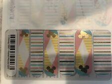 Jamberry Nail Wraps 1/2 Sheet (new) DISNEY - Pastel Mouse