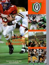2002 OHIO HIGH SCHOOL FOOTBALL STATE CHAMPIONSHIP PROGRAM       STATE SEMIFINALS