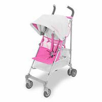 MACLAREN Silver & Azalea Pink VOLO Stroller Pushchair Buggy, up to 25kg