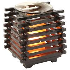 Asian Lantern Squared Electric Scented Oil Burner/Warmer Night Light Lamp OA258