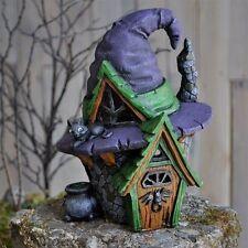 Miniature Garden Fairy Witch Hat House  Faerie Gnome Hobbit 16673