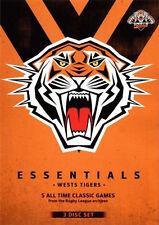 NRL Essentials: Wests Tigers - Ray Warren DVD NEW