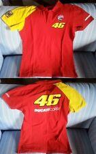 Maglia Shirt Trikot Jersey Moto POLO VALENTINO ROSSI DUCATI Taglia L
