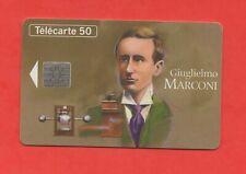 Télécarte - Grandes figures des télécommunications - Giuglielmo MARCONI  (A6475)