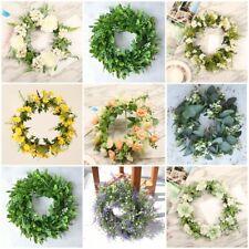 Flower Wreath Artificial Plant Bouquet Wedding Holding Flowers Home Art Decor