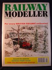 1 - Railway modeller - January 1997 - Contents page shown in photos