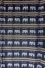 ETHNIC - HANDWOVEN COTTON FABRIC - 2 YARDS - Apparel and Fashion - Elephants