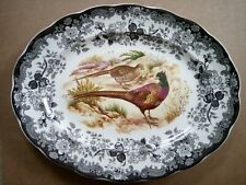 Royal Worcester Palissy Game Series Oval Platter / Charger plate - 40.5cm