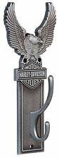 Harley-Davidson Wand Kleiderhaken mit Adler Logo *HDL-10143* 10 x 23 cm