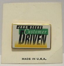 * John Deere 1992 Customer Driven Nashville Hat Lapel Pin Farm Ag Tie Tac Badge