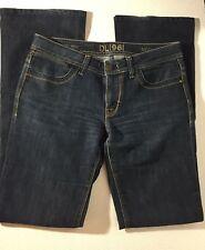 DL1961 Premium Denim Milano Boot Womens Regular 29 Stretch Jeans Dark Blue