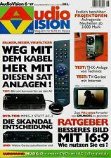 Film-Zeitschrift # Home Entertainment # AudioVision # Heft 06/1997 # Nov.-Dez.