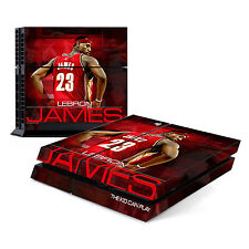 Skin Decal Cover Sticker for Sony PlayStation 4 PS4 - LeBron James Cavs