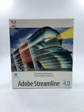 1997 Adobe Streamline 4.0 - Windows 95, Windows NT 4.0 - SEALED