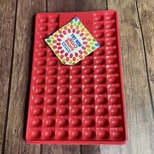 Vintage Brand New Jello Beans Jiggler Jelly Bean Mold  Red Jello Shooters 2001