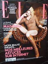 MADONNA ELLE FRANCE April 2008 Hard Candy Promo TOM MUNRO Rare MINT