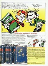 Publicité Advertising 087  1987   Rombaldi editeur   Gaston Lagaffe