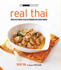Real Thai: From Chicken and Lemon Grass Curry to Spicy Mango Salad-ExLibrary