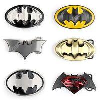 3D Dc Comics Superhero Batman Vs Superman Yellow&Black Mens Metal Belt Buckle US