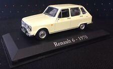 RENAULT 6 1970 - R6 - 1/43 NOREV CAR - CARS Miniatur-Auto-Sammlung