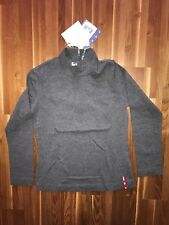 Monnalisa nylon Basic camisa gris gran cuello manga larga camisa 8 años 128/116