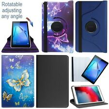 """For Huawei MediaPad T5 (10.1"""") 360°Rotating PU Leather Tablet Stand Case Cover"""