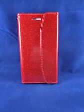 CELL PHONE Case For LG LV5-- 4 Card Slot Glitter Wallet + screen protector