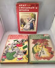 BEST IN CHILDRENS HARDCOVER VINTAGE BOOKS LOT OF 3  NELSON DOUBLEDAY INC