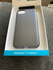 Speck Presidio CLEAR Case for iPhone 7 Onyx Clear/Black Matte New