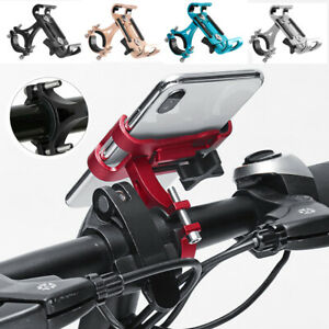 Aluminum Bicycle Holder Alloy Motorcycle Bike Handlebar Mount For Cell Phone GPS